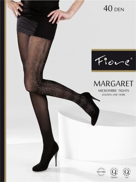 Fiore Microfaserstrumpfhosen mit Muster Margaret 40 den