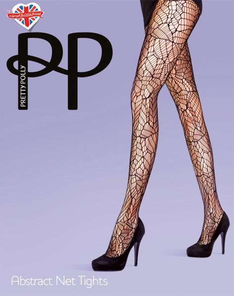 Pretty Polly Abstract Net - Abstrakt gemusterte Netzstrumpfhose