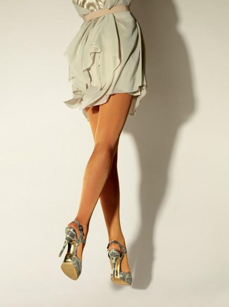 Gerbe Designerstrumpfhose, dezent glaenzend, Tout Simplement