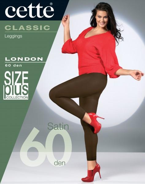 Cette Size Plus Collection - Glatte blickdichte Plus Size Leggings London