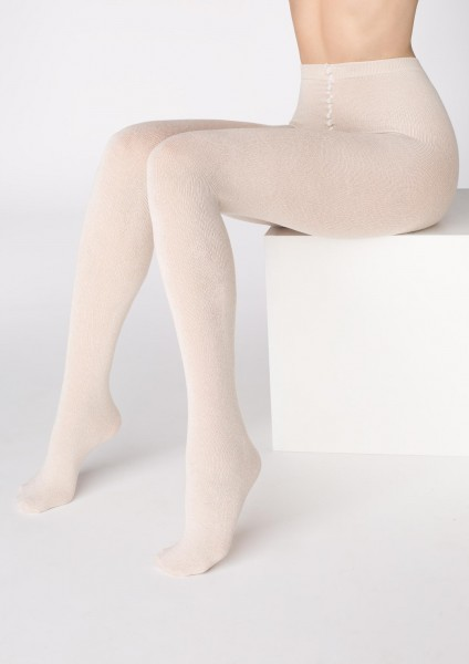 Marilyn Kuschelig warme Winterstrumpfhose mit hohem Kaschmir-Anteil, 200 DEN
