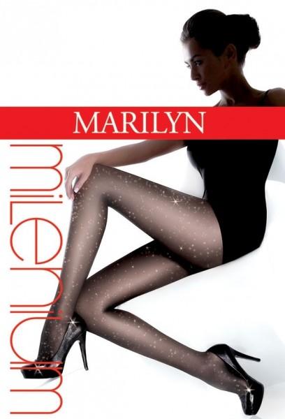 Marilyn Elegante dezent glitzernde Feinstrumpfhose Milenium 20 DEN
