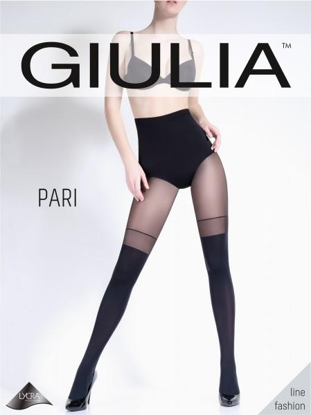 Giulia Pari 23 - Blickdichte Strumpfhose mit verführerischer Strumpfoptik