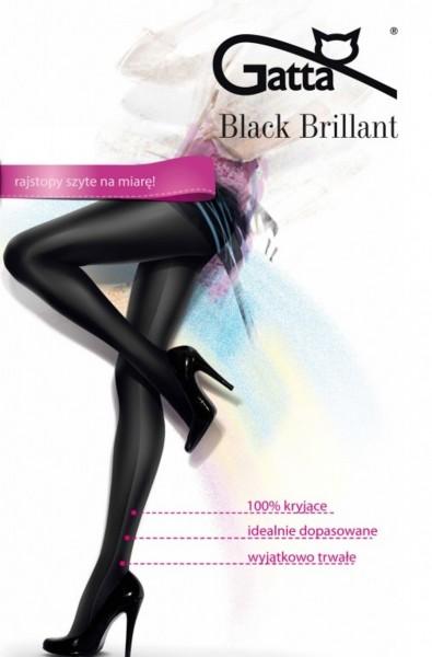Gatta Black Brillant - Hochglänzende Strumpfhose