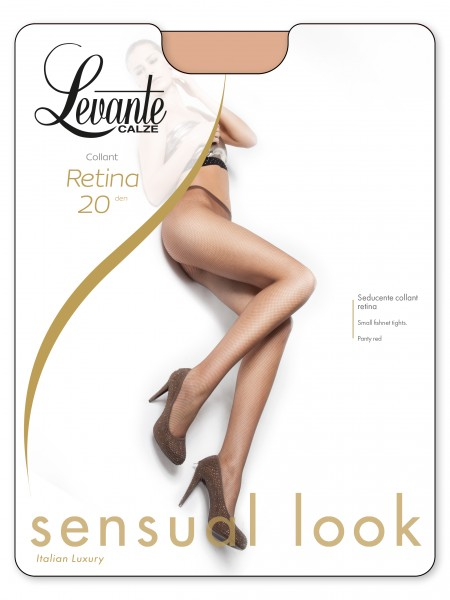 Levante Retina 20 - Klassische Netzstrumpfhose