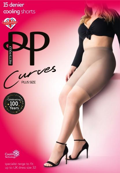 Pretty Polly Curves - Panty mit Kühleffekt für Frauen mit weiblichen Rundungen