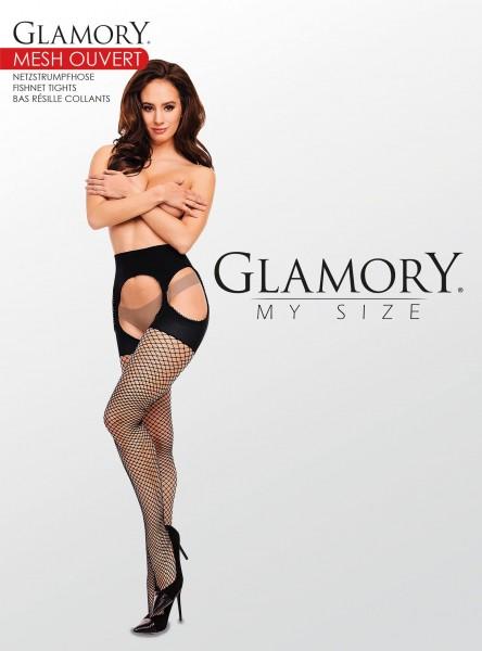 Glamory Mesh Ouvert - Straps-Netzstrumpfhose