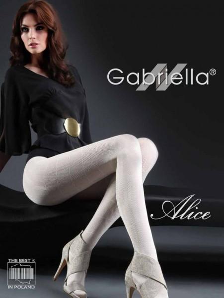 Gabriella Strumpfhose Alice mit durchgehendem Muster