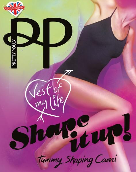 Figurformendes Top mit verstellbaren Trägern Tummy Shaping Cami von Pretty Polly