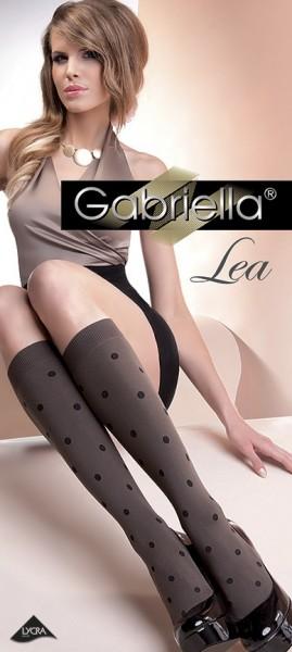 Gabriella Blickdichte Kniestruempfe mit Tupfendesign Lea, 60 DEN
