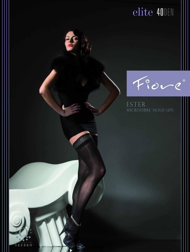 fiore halterlose str mpfe ohne muster ester 40 den. Black Bedroom Furniture Sets. Home Design Ideas