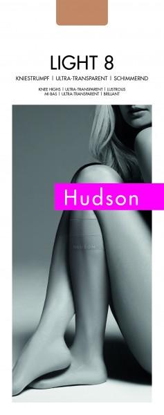 Hudson Glatte klassische Kniestrümpfe Light 8, 15 DEN