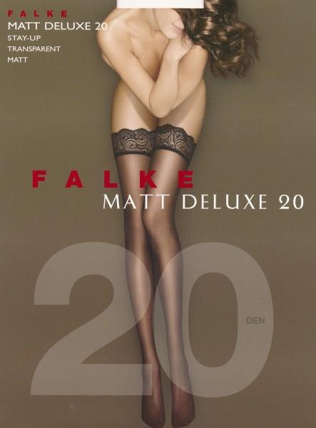 Falke Matt Deluxe 20 - Elegante halterlose Strümpfe mit Matt-Effekt