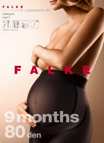 Falke 9 Months 80 - Blickdichte Schwangerschaftsleggings