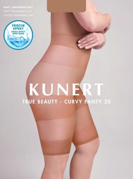 Kunert True Beauty Curvy 20 - Panty für weibliche Formen