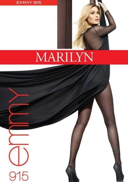 Marilyn Elegante Strumpfhosen mit Naht Emmy 20 DEN