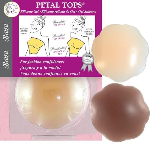 SILIKON GEL PETALS® NIPPEL Covers beige