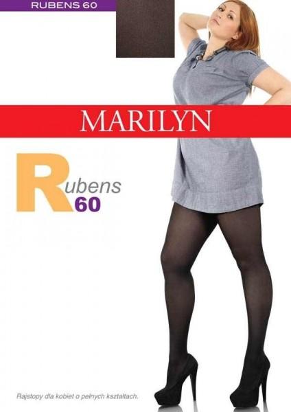 Marilyn Bequeme Strumpfhose fuer Frauen mit etwas ueppigerer Figur Rubens 60 DEN