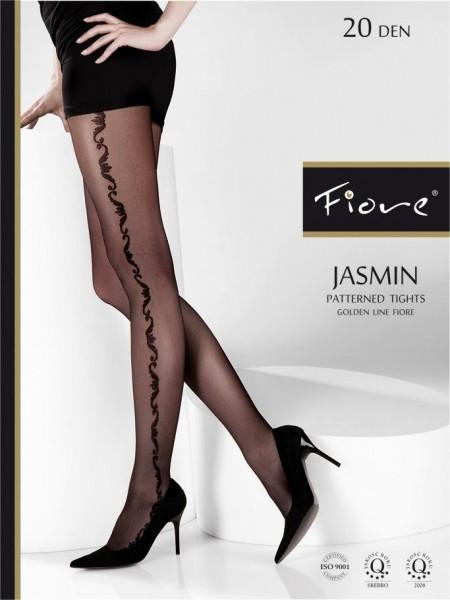 Fiore Feinstrumpfhose mit floralem Muster Jasmin 20 den