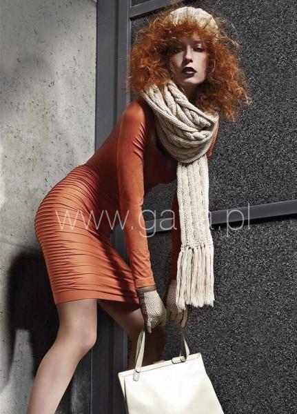 Gatta Bequemes und elegantes Kleid mit Raffung Wall Caro Dress