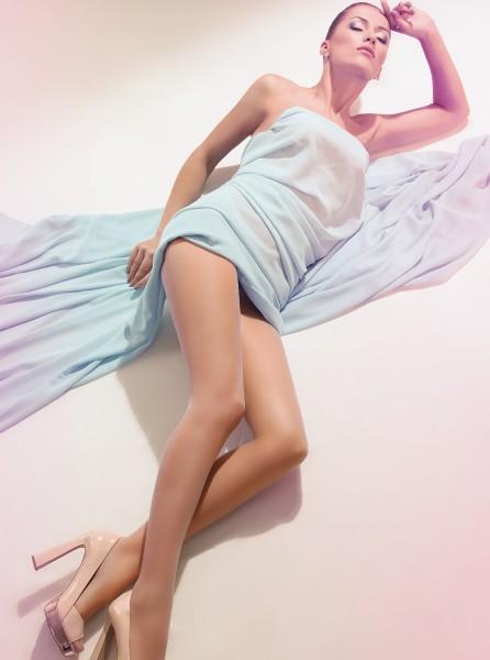 Giulia Infinity 8 - Hauchdünne Sommerstrumpfhose mit Kühleffekt
