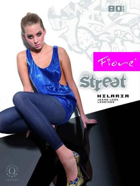 Fiore Leggins in Jeans-Look Hilaria 80 DEN
