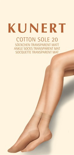 Kunert Matte Feinsoeckchen Cotton Sole 20