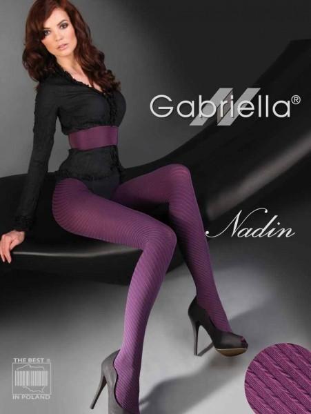 Gabriella Elegante Strumpfhosen Nadin mit durchgehendem 3D-Muster