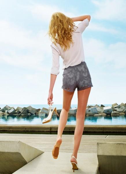 Perfekte Sommerstrumpfhose mit Antirutsch-Sohle Sevilla Fix von Cecilia de Rafael, 15 DEN