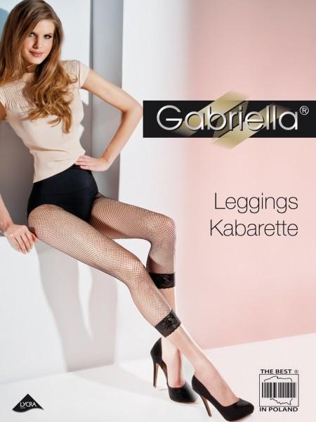 Gabriella Netzleggins mit elegantem Spitzensaum Kabarette