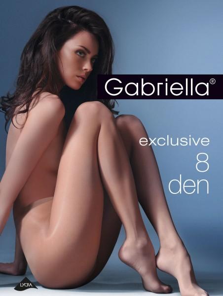 Gabriella Ultradünne Feinstrumpfhose für Sommertage Exclusive 8 DEN