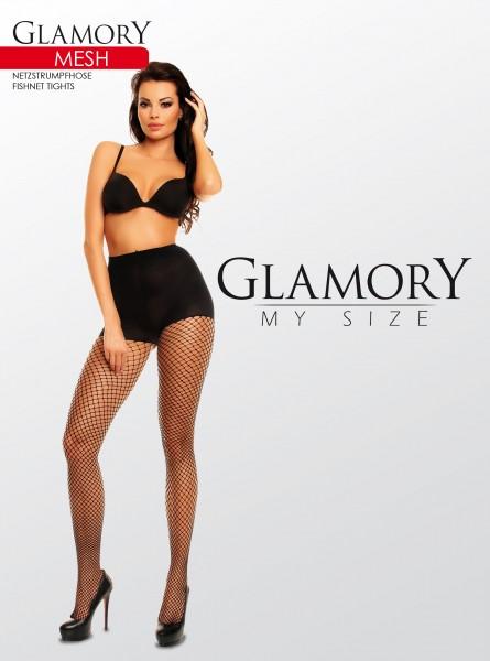 Glamory Mesh - Weiche Netzstrumpfhose in Übergrößen