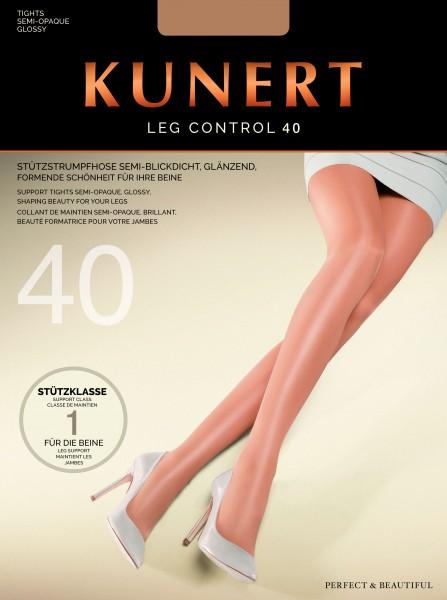 Kunert Leg Control 40 - Glatte Stützstrumpfhose