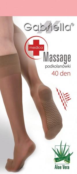 Gabriella Bequeme Kniestruempfe mit Massage-Effekt, 40 DEN