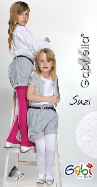 Gabriella Kinderstrumpfhose mit Rautenmuster Suzi