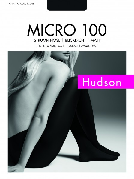 Hudson Micro 100 - Blickdichte, matte Strumpfhose