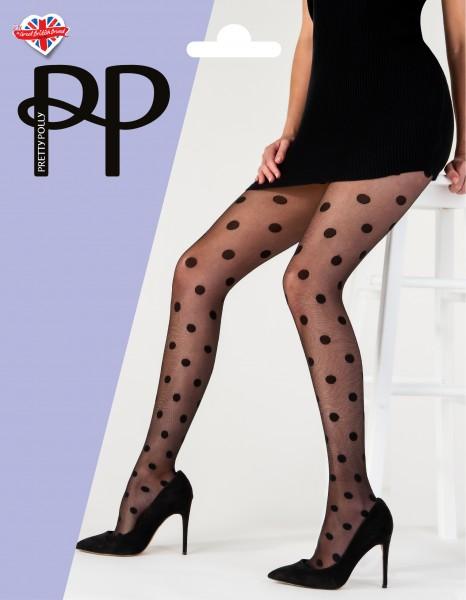 Pretty Polly Sheer Spot Tights - Feinstrumpfhose mit angesagtem Tupfen-Design