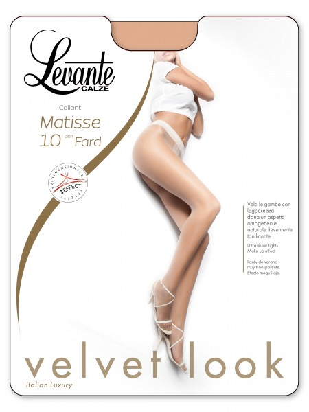 Levante Glatte Feinstrumpfhose mit Make-up-Effekt Matisse, 10 DEN