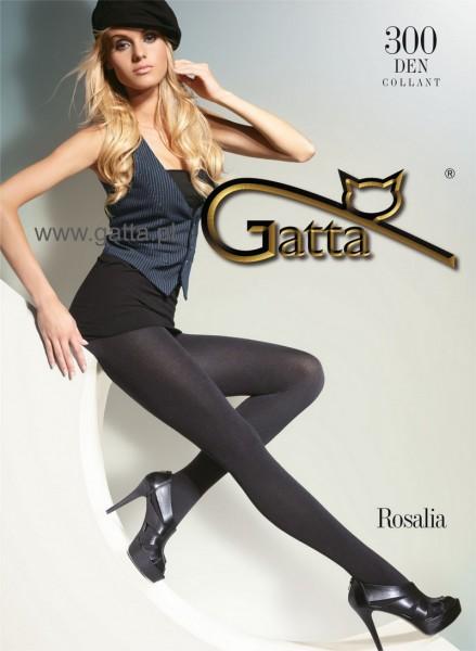 Gatta Warme Winterstrumpfhosen ohne Muster Rosalia 300 DEN