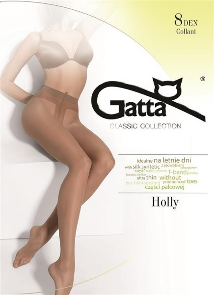 Gatta Holly - Hauchdünne Nylonstrumpfhose