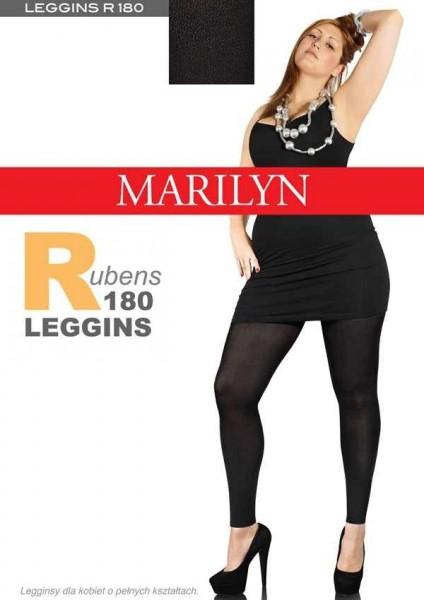 Marilyn Bequeme Leggings fuer Frauen mit etwas ueppigerer Figur Rubens 180 DEN