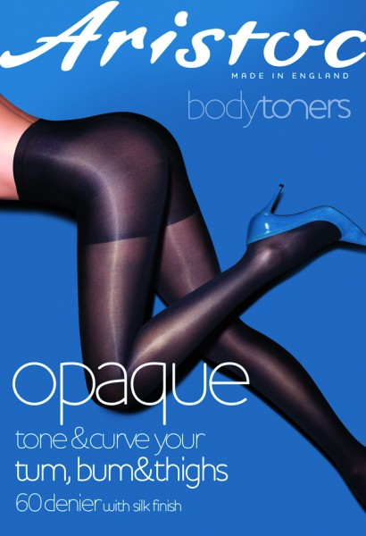 Aristoc Opaque Low Leg Toner Tights - Blickdichte, figurformende Feinstrumpfhose