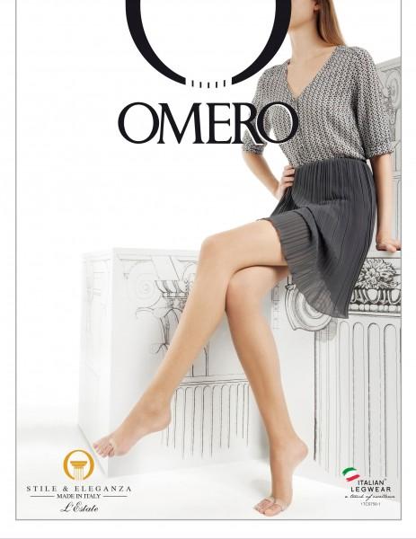 Omero Aestiva 8 Infradito - Ultradünne Sommerstrumpfhose mit offener Fußspitze