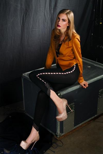 Trasparenze Strumpfhose in raffiniertem Leggings-Look Premium