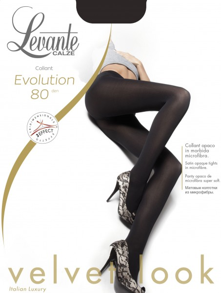 Levante Evolution 80 - Glatte blickdichte Strumpfhose in matter Optik