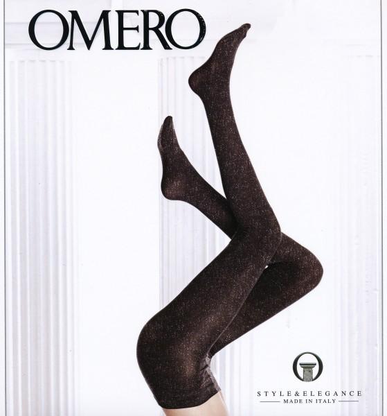Exklusive blickdichte Strumpfhose mit Glanzeffekt Brillant von Omero