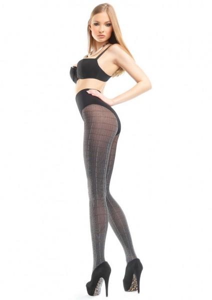 Marilyn Elegante karierte Strumpfhose Inez 80 DEN
