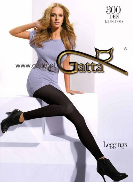 Gatta Warme Winterleggings ohne Muster, 300 DEN