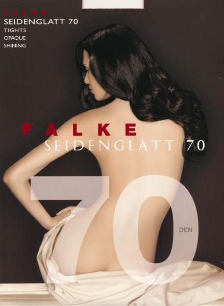 Falke Seidenglatt 70 - Blickdichte Strumpfhose in leicht glänzendem Look