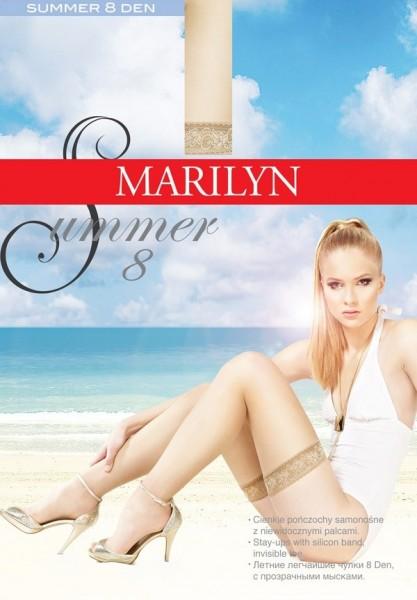 Marilyn Hauchduenne halterlose Struempfe Summer 8 DEN